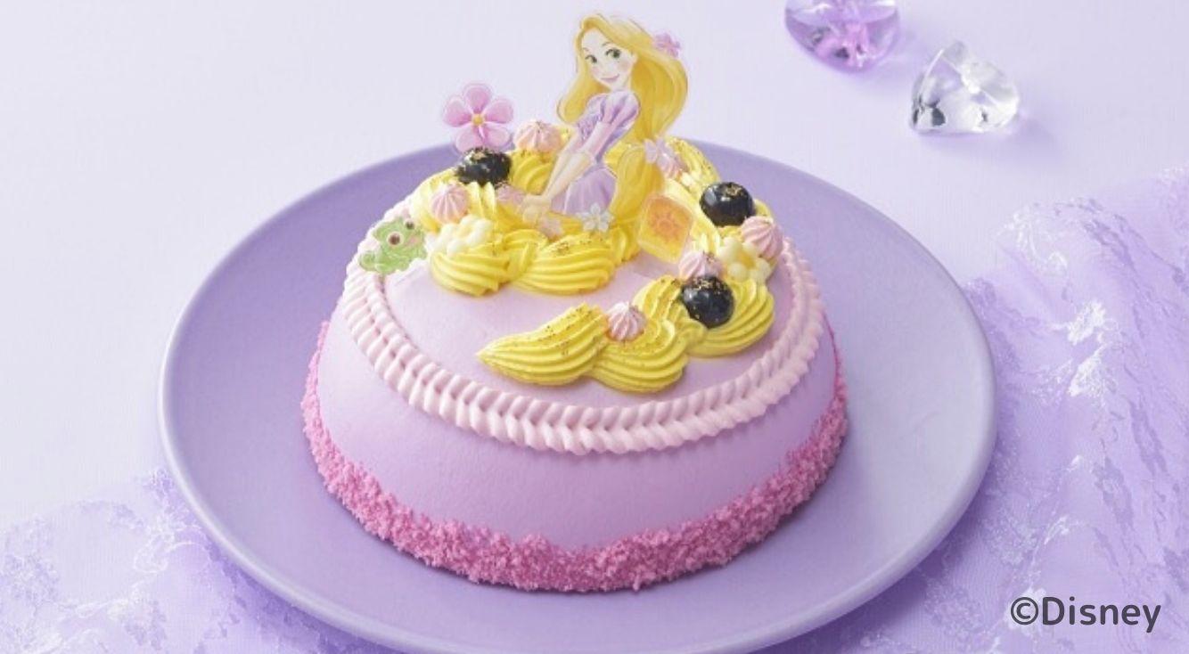 ひなまつりをラプンツェルとお祝い♡コージーコーナーからラプンツェルのケーキが登場!