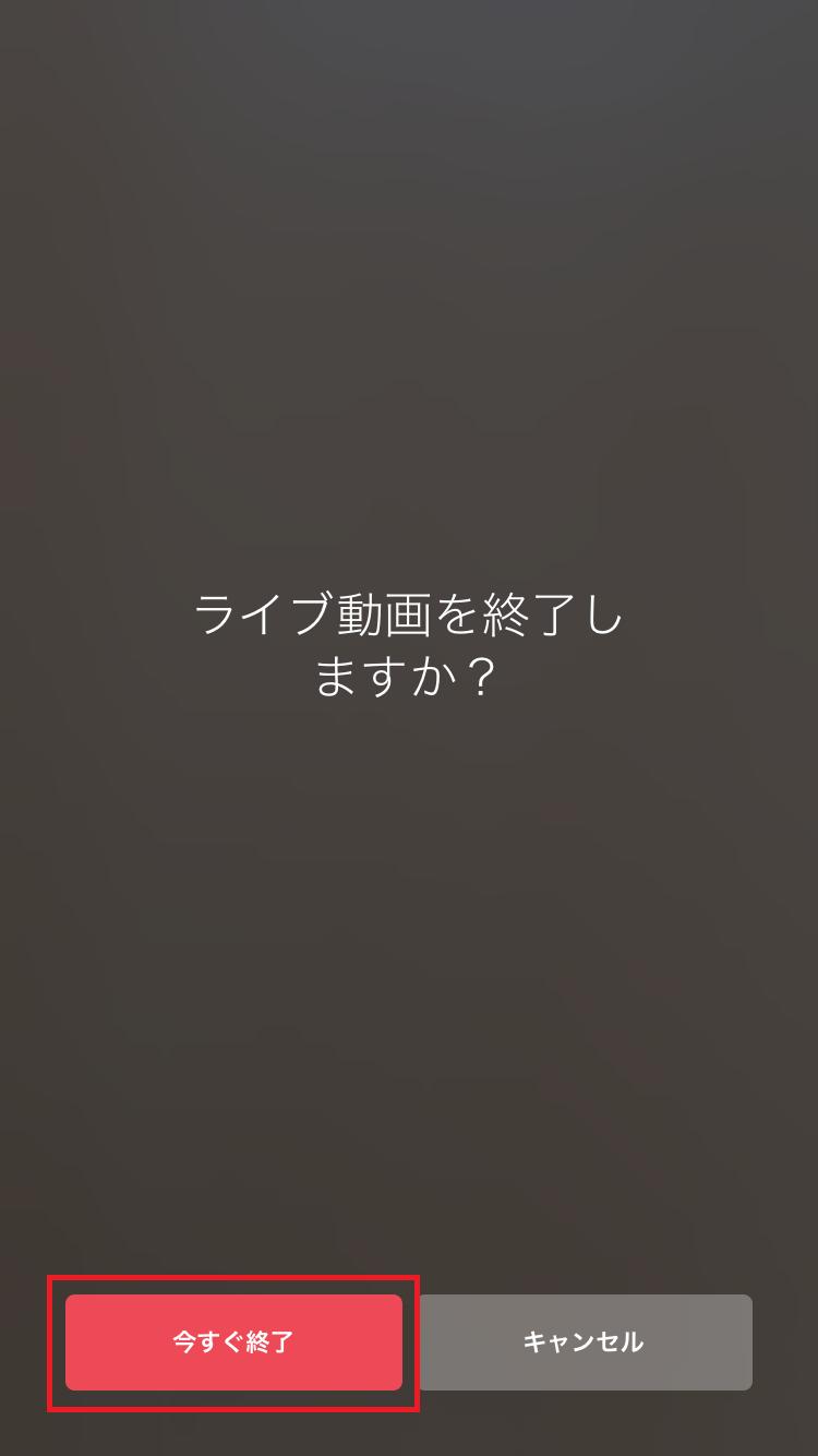 撮影の終了/動画の保存