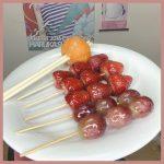#おうち時間 で簡単!!失敗しがちなフルーツ飴の簡単な作り方を伝授します♡