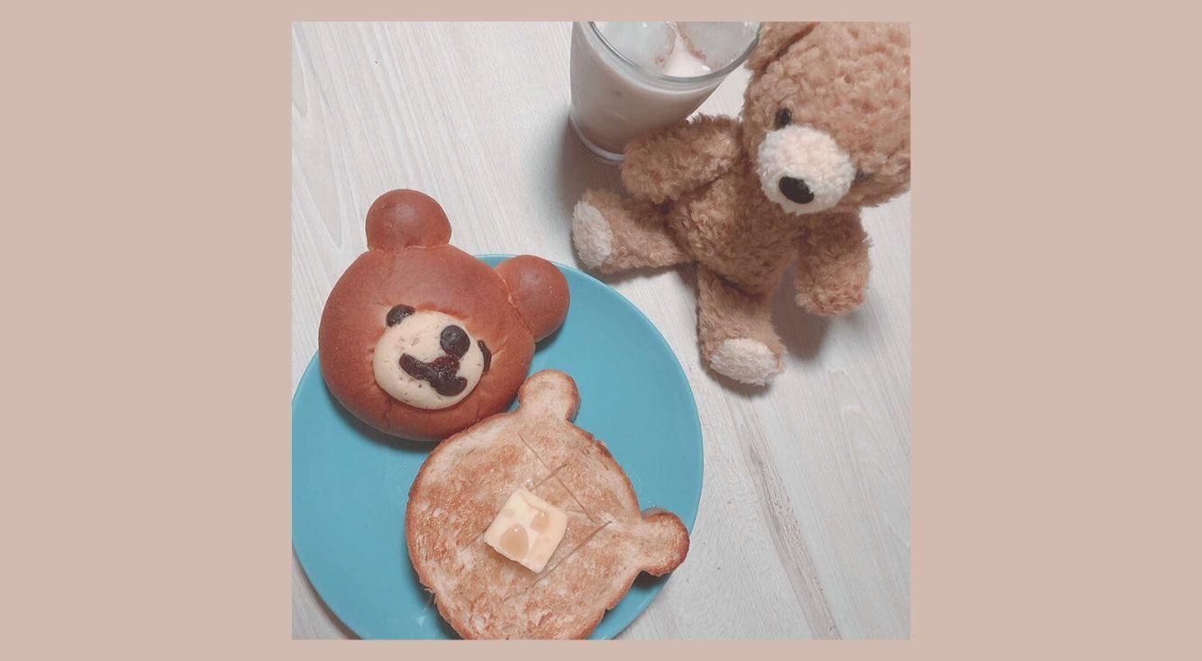 食べるのがもったいない『くまの食パン』YOKOHAMA Bakery  Chaleur(シャルール)