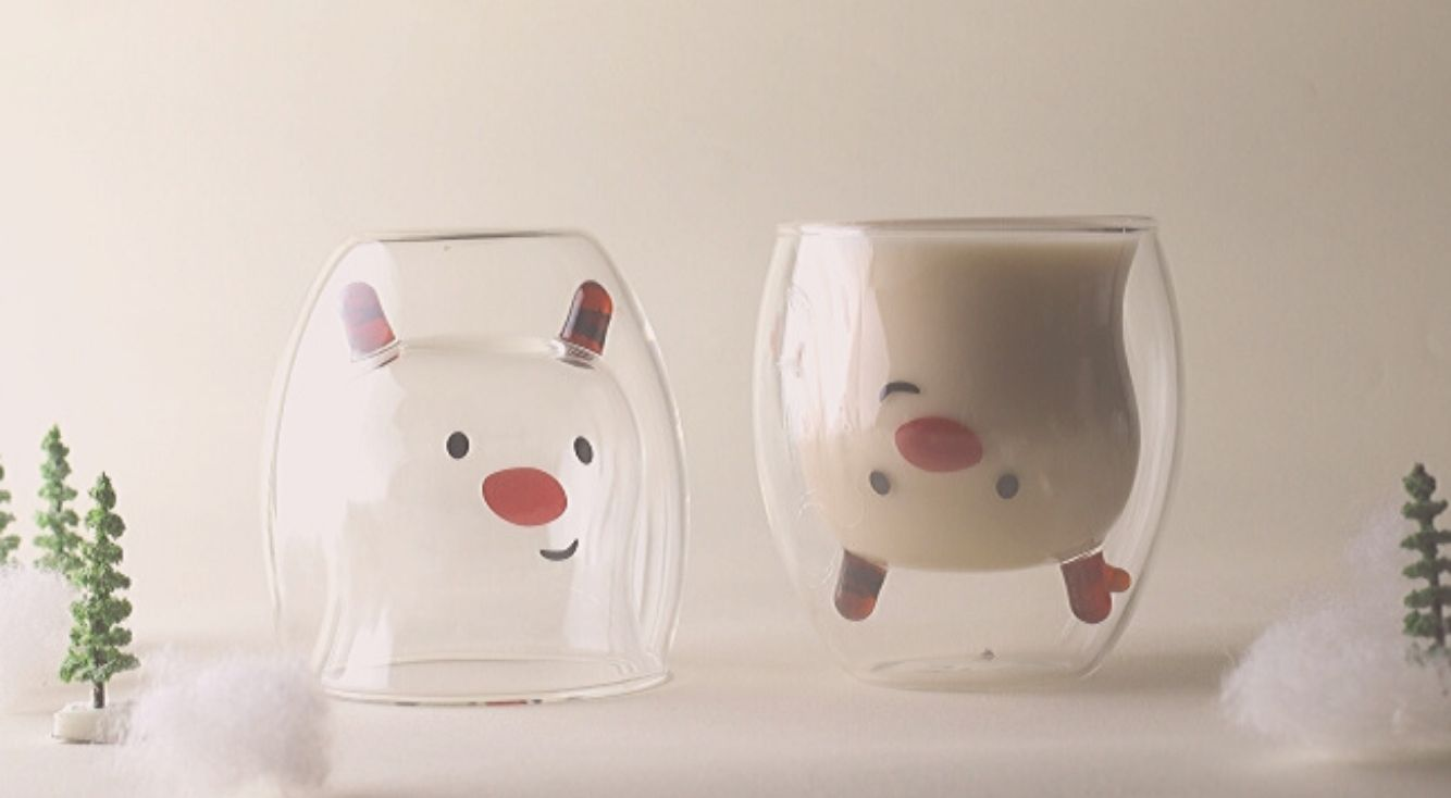 飲み物を注ぐと動物が現れるグラス「GOODGLAS(グッドグラス)」が、西武秋田店・福井店で期間限定販売スタート♡