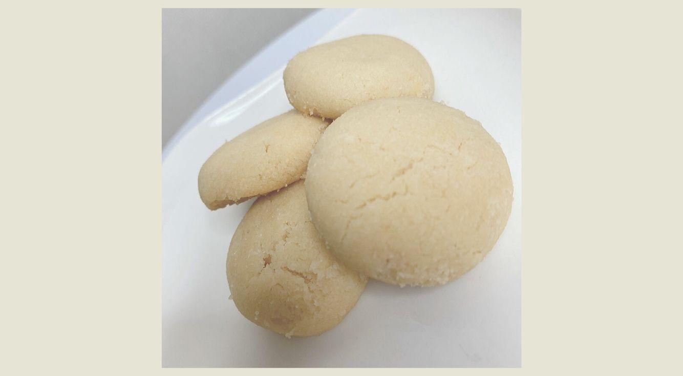 Twitterで話題!「さくほろクッキー」を冷蔵庫にあるものだけで作ってみた♥