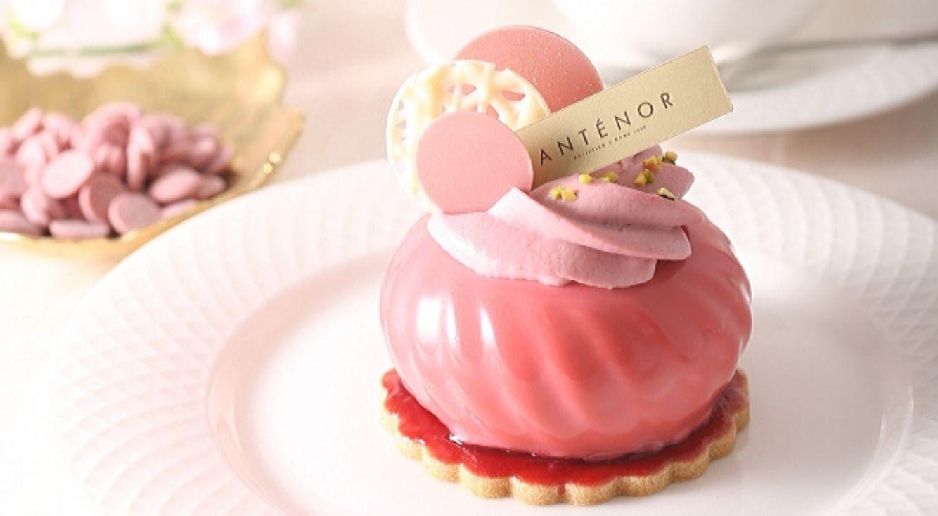【アンテノール】10店舗限定発売! ルビーチョコレートを使ったこだわりのケーキ