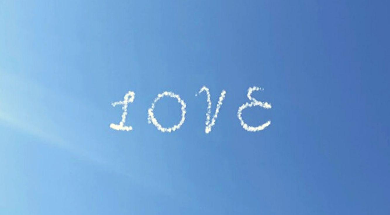 【SkyLetter(スカイレター)】空に飛行機雲で文字が書けるアプリ!お洒落に思いを伝えよう!