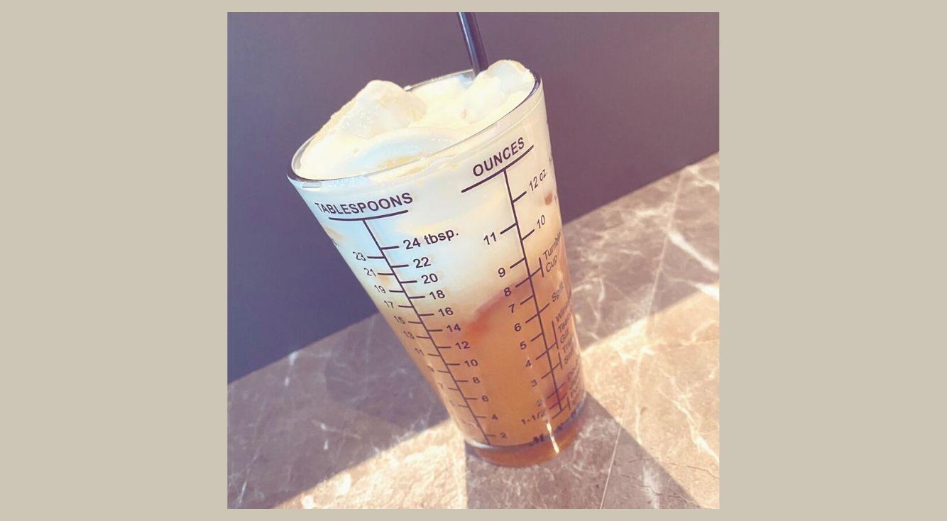 ふわもこ生クリームのミルクティーが飲める『DUCT COFFEE LAB ( ダクトコーヒーラボ )』