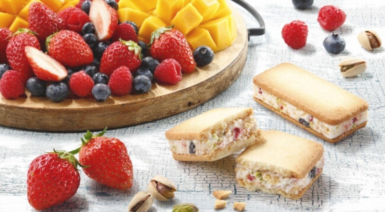 「フランセ」から期間限定商品「果実をたのしむサンドクッキー」が発売!
