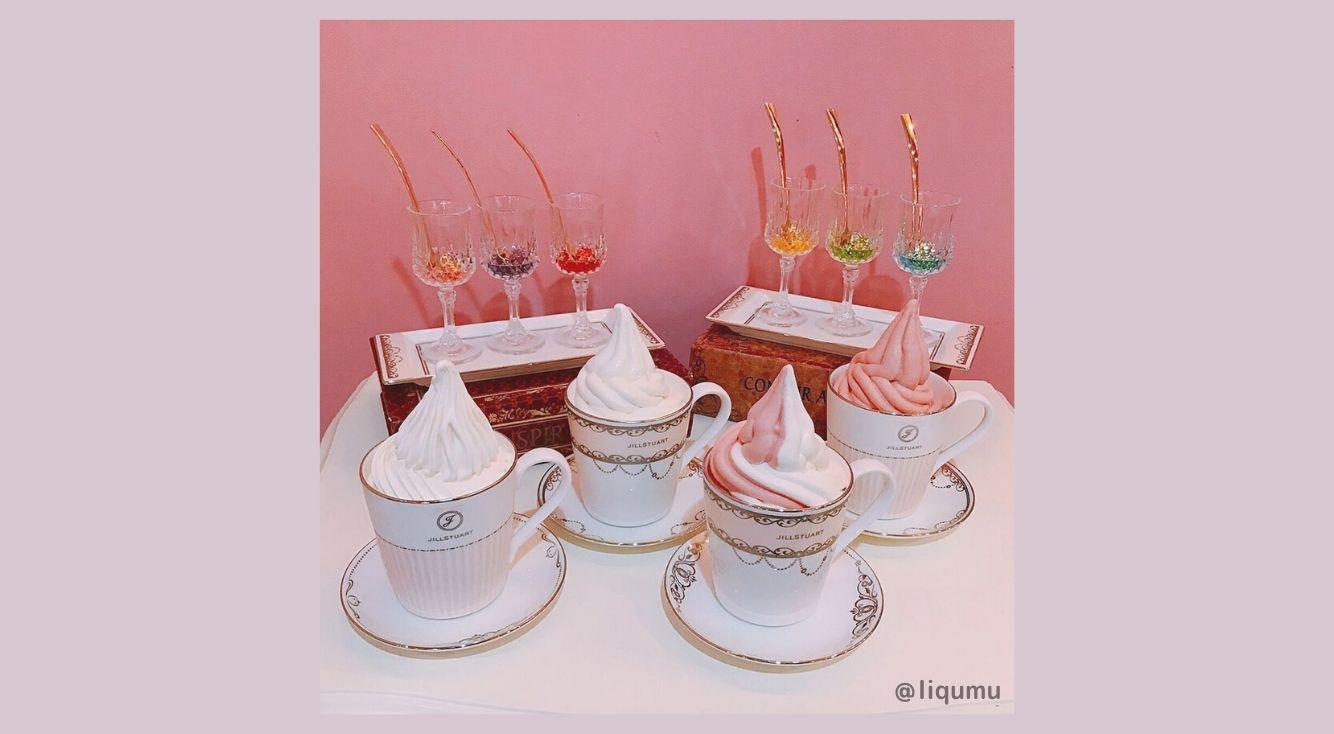 お酒も楽しめる可愛いアイスクリームバー・原宿【LiQumu(リキューム)】
