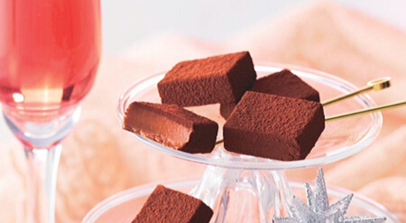 ちょっぴり大人なバレンタイン。洋酒薫るロイズの生チョコレート