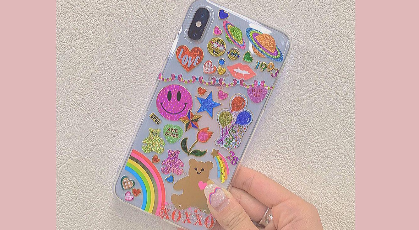 韓国でも人気♡えりなっちオススメの、iPhone透明ケースのおしゃれなアレンジ方法!
