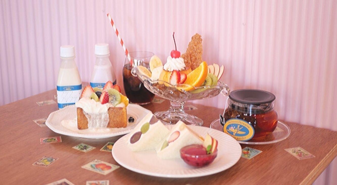 フルーツサンド専門店「フツウニフルウツ」が大阪に初出店!お洒落なカフェスペースでフルーツサンドを楽しもう♡