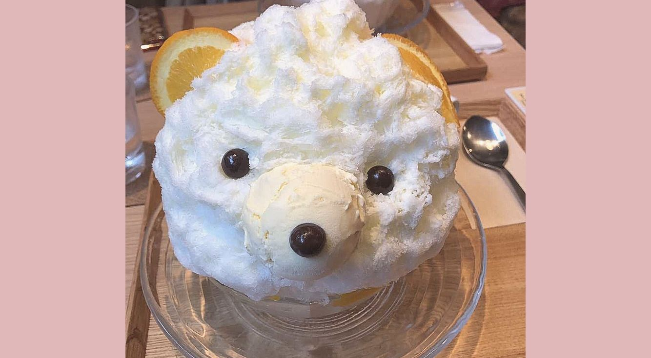【木と水と土と】表参道にあるインスタ映えな「しろくまかき氷」を食べに行ってきました!つぶらな瞳にKO寸前♡
