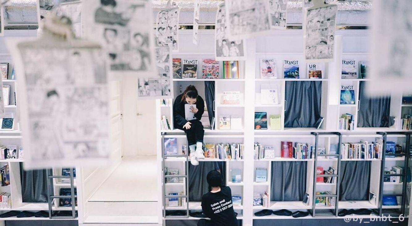 シックなカフェメニューに注目!『by BOOK AND BED TOKYO(バイ ブック アンド ベッド トウキョウ)』