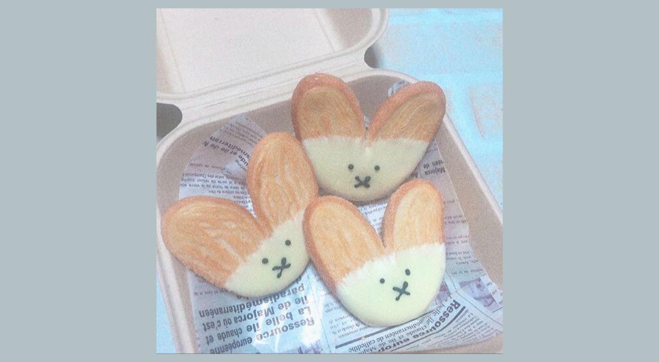 源氏パイをミッフィー風にアレンジ!#おうち時間 をほっと優しいひとときに♥