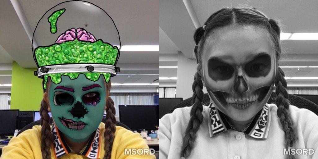 MSQRD怖いマスク