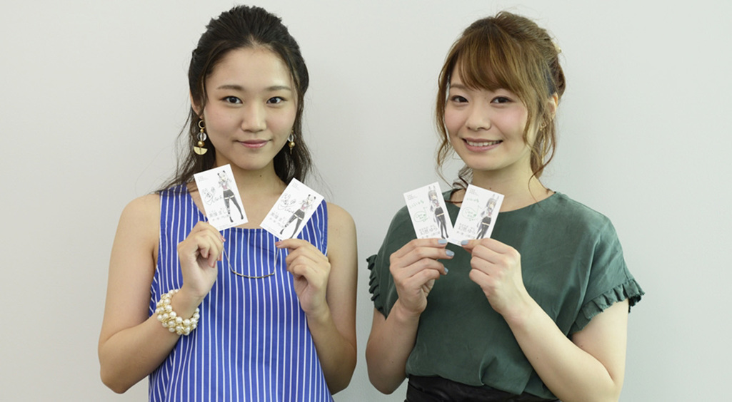 レジェンヌ声優の門山葉子さんと上間江望さん