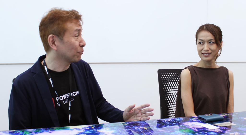 レジェンヌPの平田さんとコンセプトプロデューサーの梅田さん