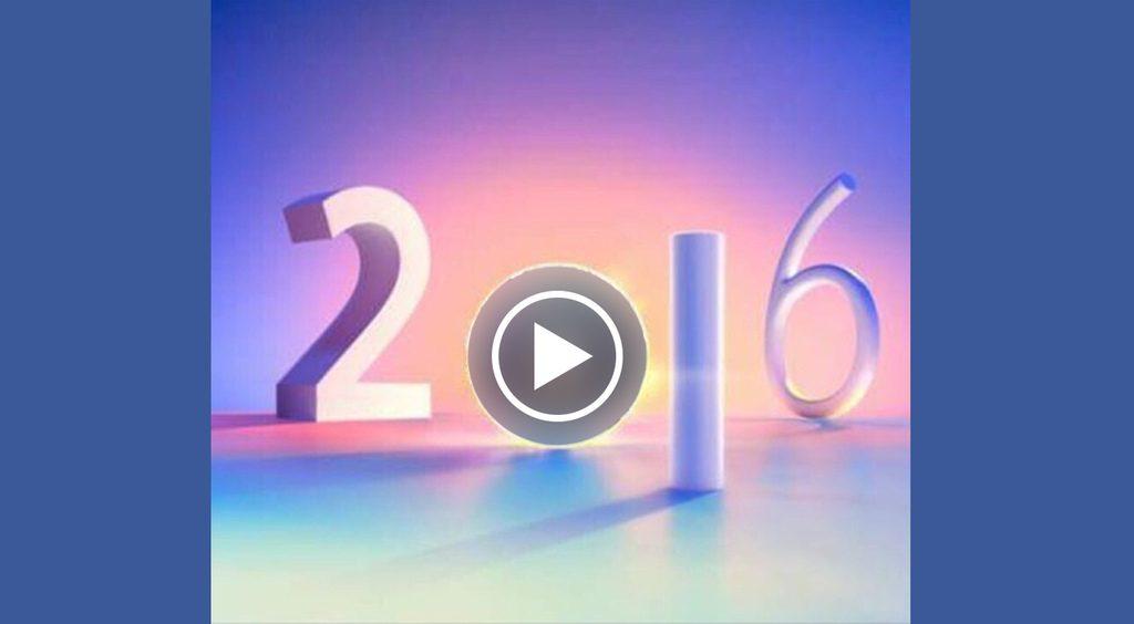 【Facebook】の動画で2016年を振り返る!