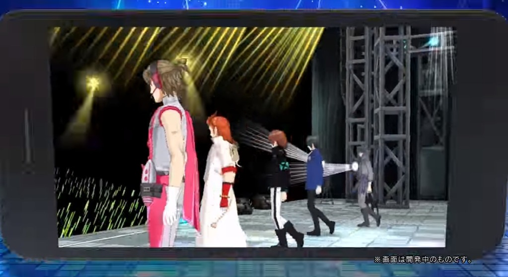 アイドルマスター sideMのライブ画面