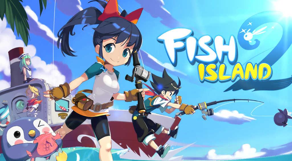 釣り王に俺はなる!!かわいいフィッシングRPG【フィッシュアイランド2】配信開始! :PR