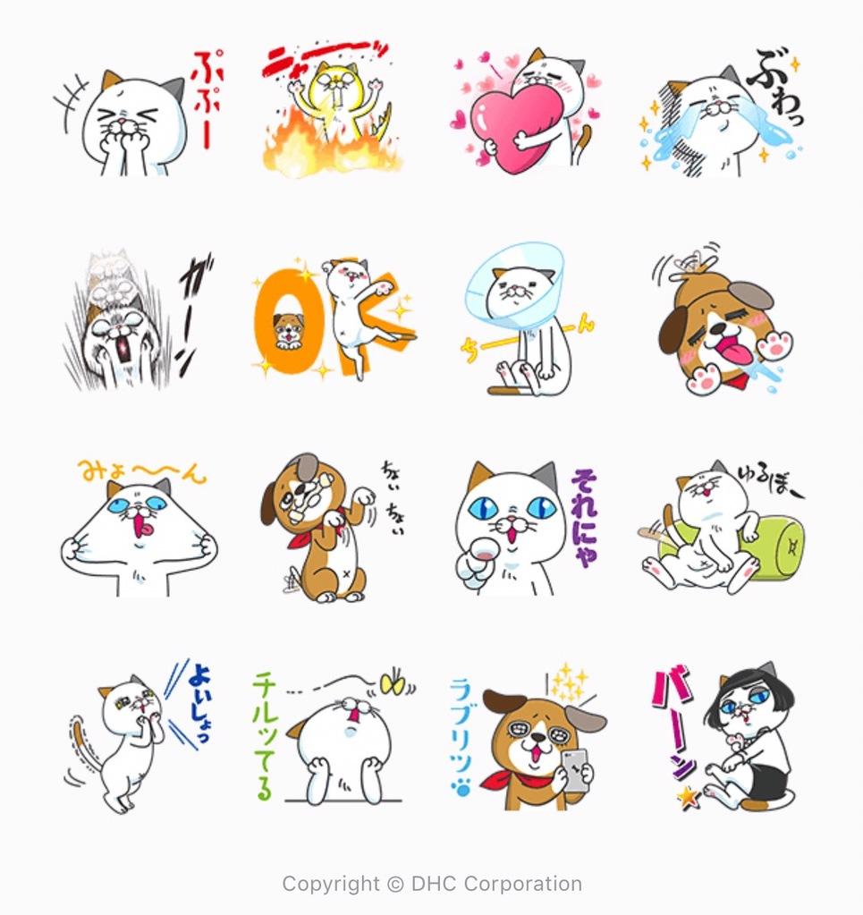 無料LINEスタンプ「タマ川 ヨシ子(猫)全世界待望の第12弾」