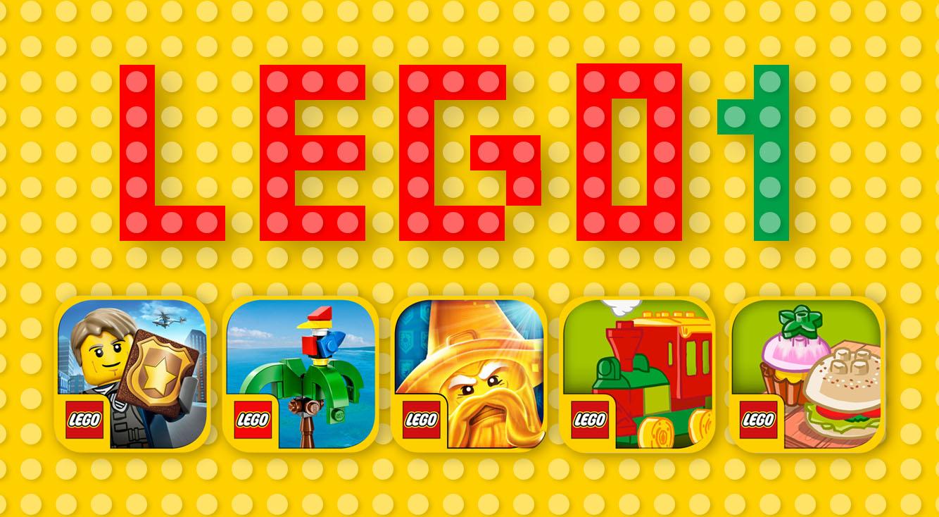 【LEGOアプリまとめ・前編】大人も夢中になる冒険物から、幼児に大人気のデュプロまで!