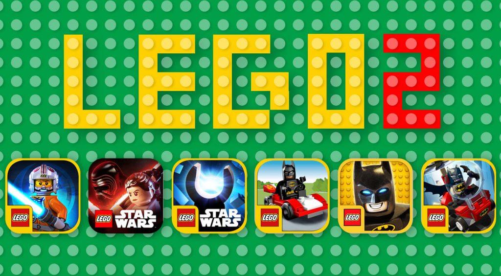 【LEGOアプリまとめ・後編】レゴ化したスター・ウォーズやバットマンが大活躍!