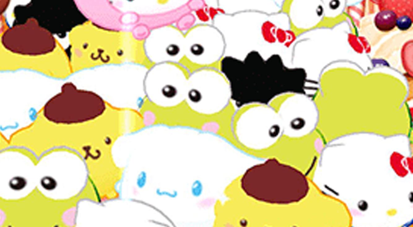ぽちゃっとまん丸なサンリオキャラがかわいい♡ゲーセン風キャッチャーゲーム【ハローキティ ぽちゃだまみれ】