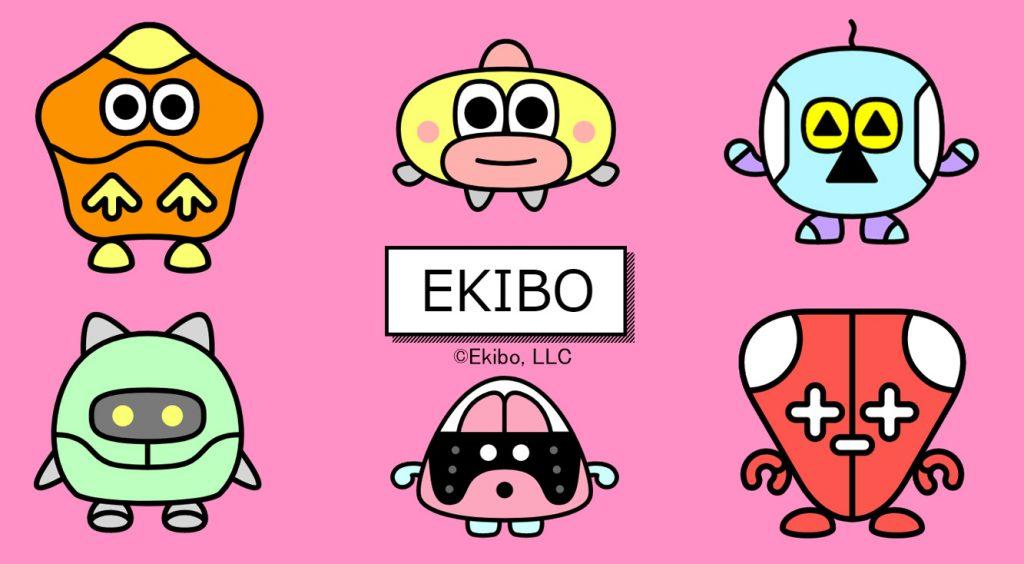 駅(EKI)に住むBOT(メチャウザい)を育てよう!自分っぽく成長するぞ!【EKIBO】