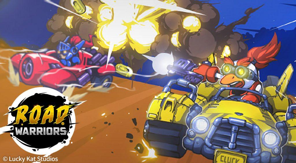 ライバルは撃破で追い抜かそう!超過激なレースゲーム。