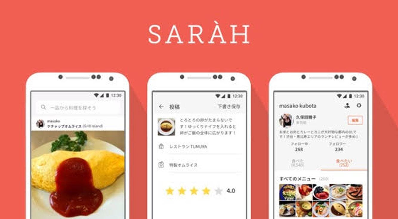 メニュー目線でお店検索 【 SARAH(サラ) 】