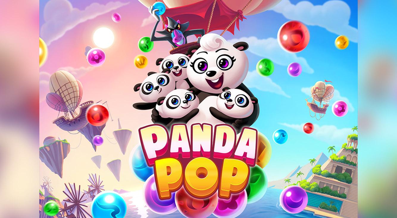 やみつきになるパンダのバブルパズル☆【Panda Pop】