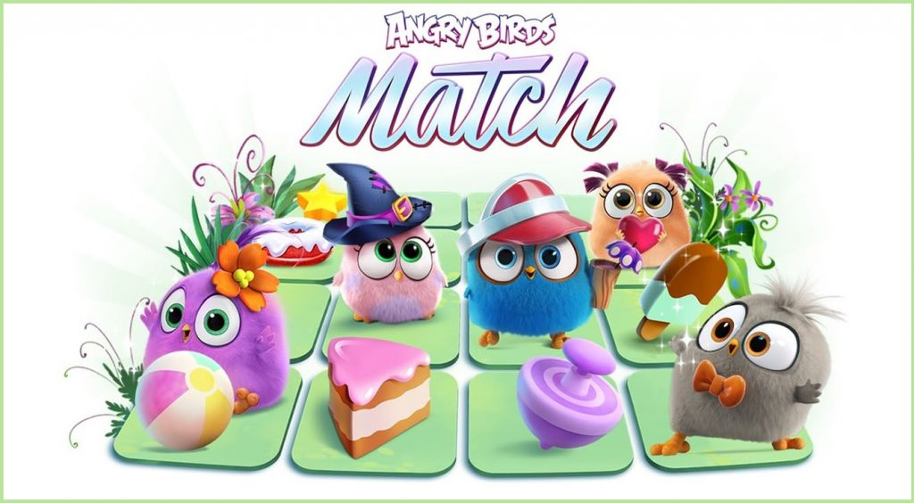 ステージ数1,000以上!!アングリーバードの可愛いパズル【Angry Birds Match】