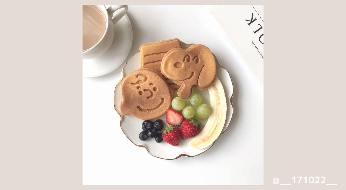 おうちカフェにスヌーピーワッフルメーカーが大活躍!簡単でおいしい映えメニューを紹介♡