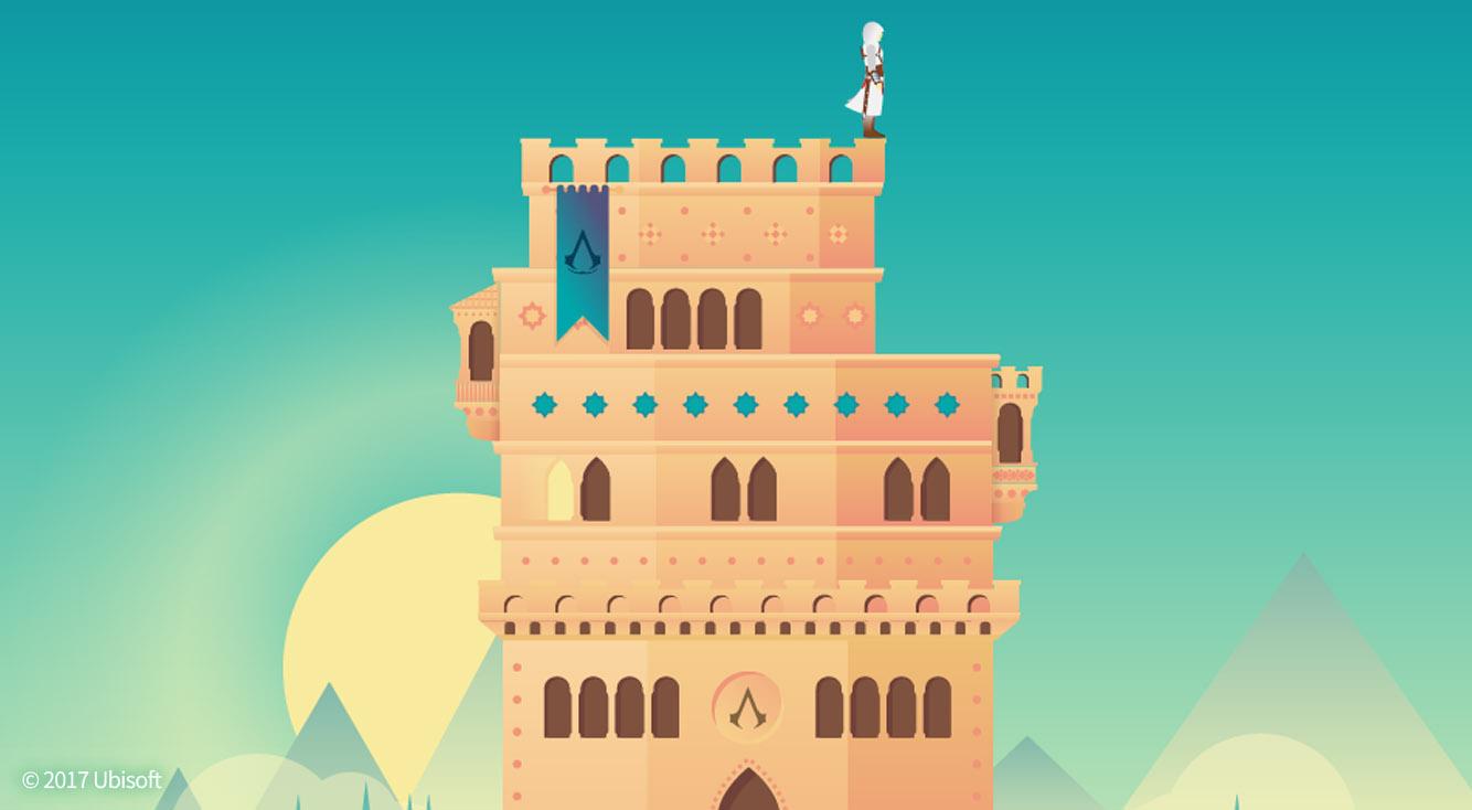 アサクリの魅力が、シンプルにかわいくギュッと詰まった!【The Tower Assassin's Creed】