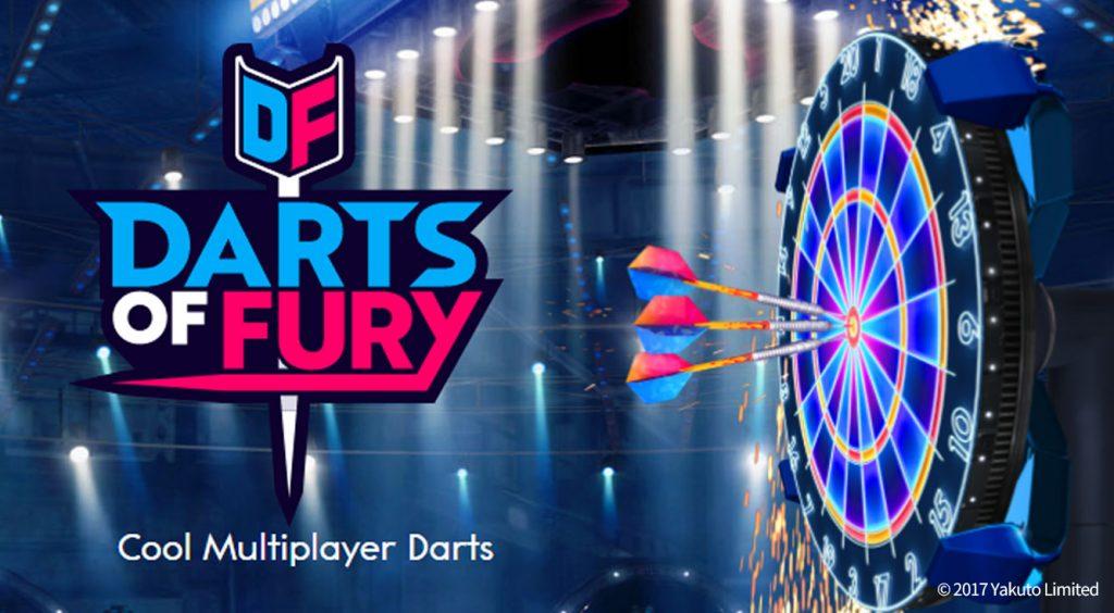 ダーツの世界へようこそ!世界中のプレイヤーと気軽&手軽に遊んでみよう!【Darts of Fury】