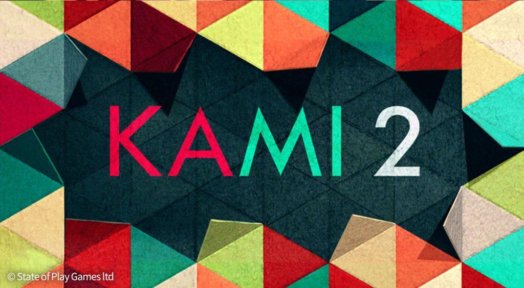和のテイスト満載!折り紙の色を染めちゃう和風パズル!【KAMI 2】