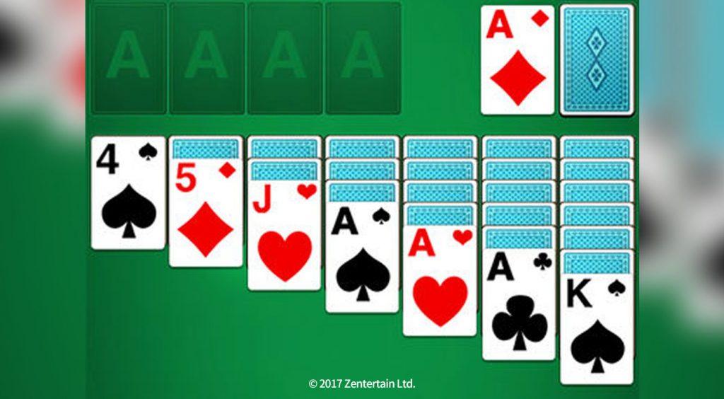 キャラも飾りもなくひたすらシンプル!定番カードゲーム【ソリティア◎】をアプリで楽しもう!