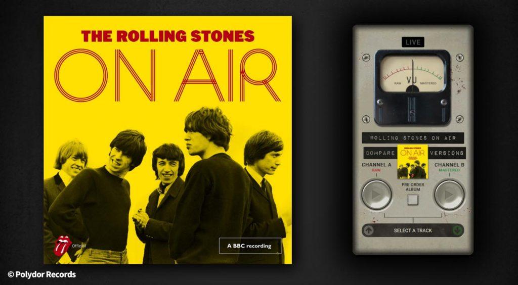 ザ・ローリング・ストーンズ、公式サイトでユニークなWEBアプリを公開。初期ライブ音源を聴き比べ!