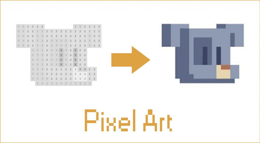 レトロな雰囲気と素朴な可愛らしさがある、ピクセルアート(ドット絵)がゲームに!【Pixel Art】