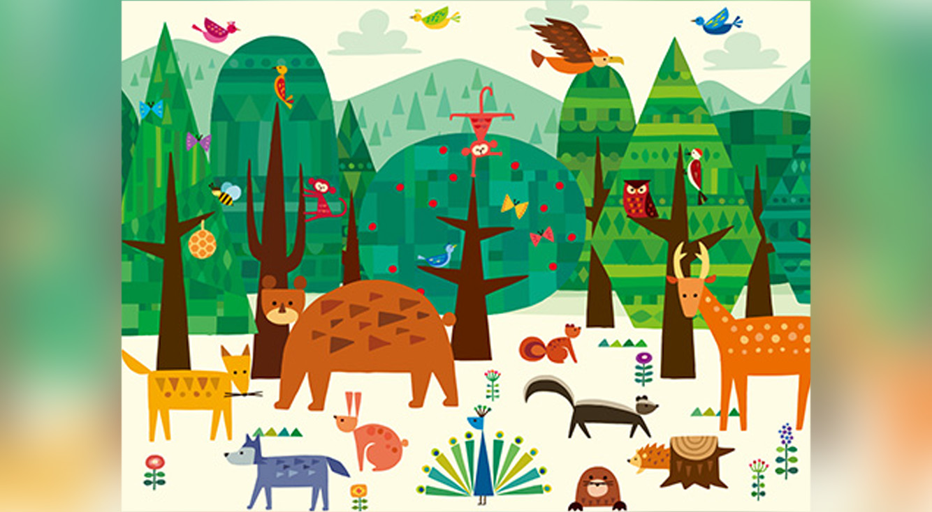 タッチで広がる素敵な世界。親子に超おすすめのかわいい絵遊び知育アプリ【ゆびつむぎ】