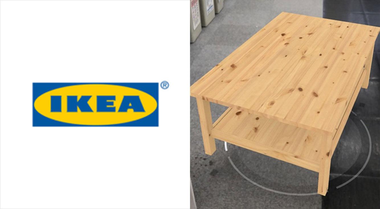 IKEAの商品をARで自分の部屋に置いてシミュレーション出来るアプリ【IKEA Place】