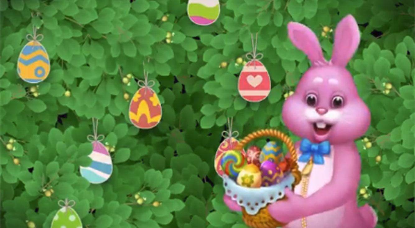 ピンクのウサギが帰ってきた!2018年もイースターイベントがスタート【ガーデンスケイプ】