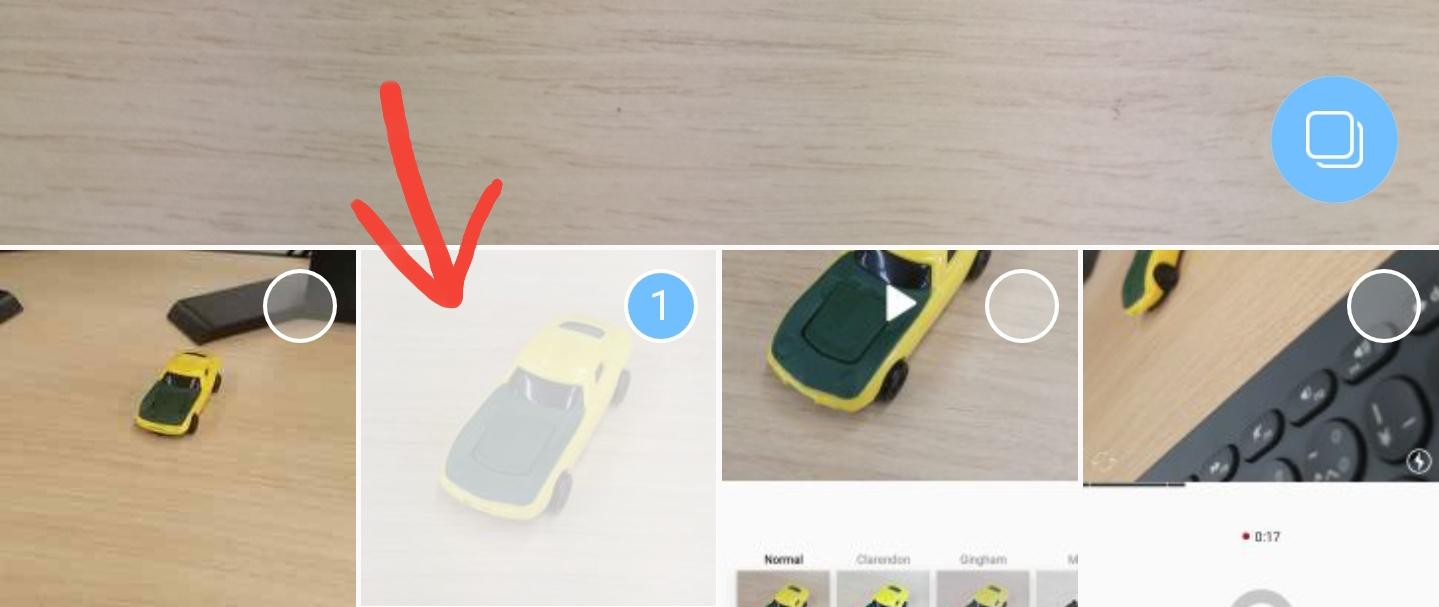 Instagram(インスタグラム)で写真・動画を複数投稿する方法