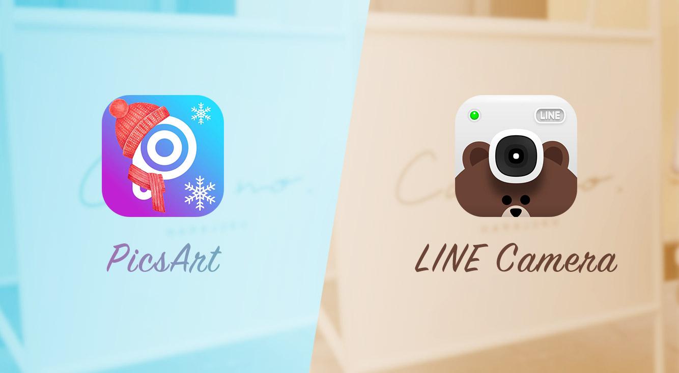 PicsArtとLINECameraを比較!加工画像の画質の違い!