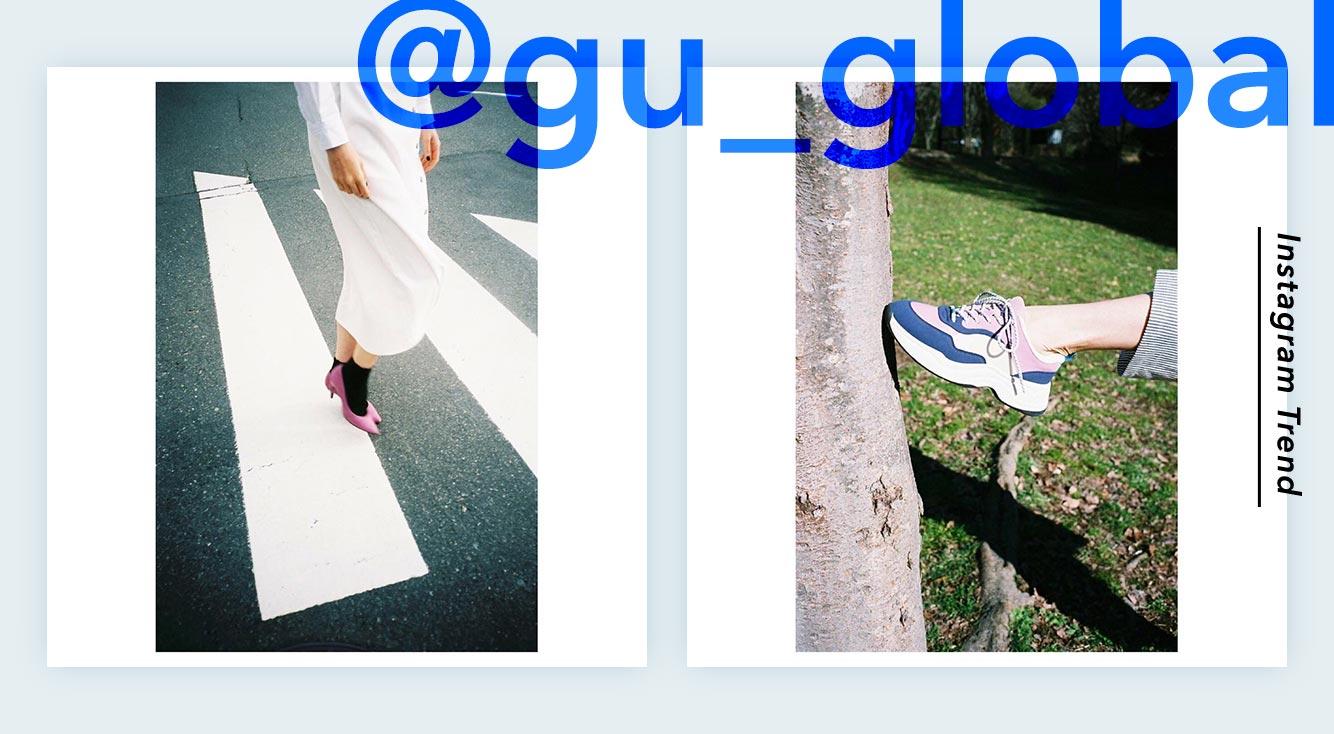 GUのインスタアカウント(@gu_global)をチェックしてプチプラの春服を先取り!🌸