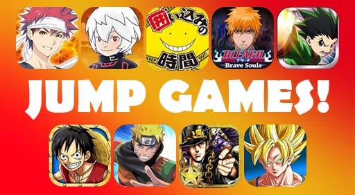 マンガの世界観がアプリでも楽しめる♪少年ジャンプのゲームまとめ。