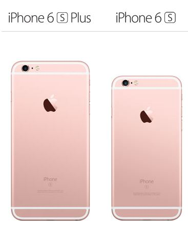 iphone6s-ローズゴールド