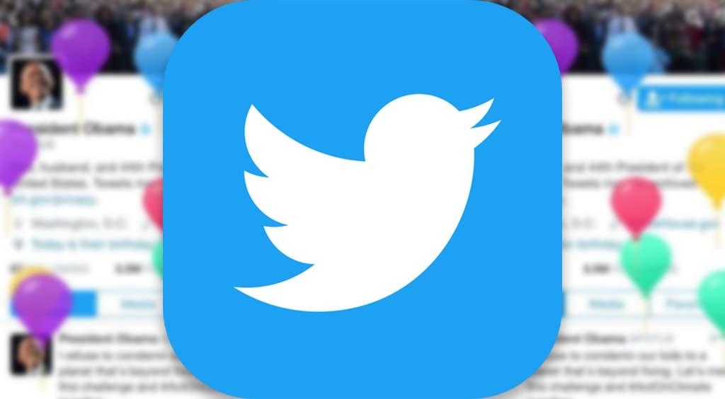 Twitterが誕生日を祝ってくれる?!公式アプリの魅力☆