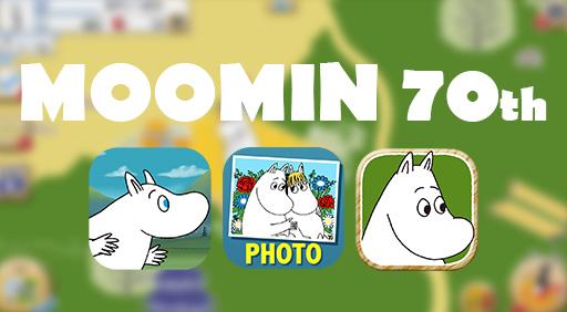 「ムーミン」出版70周年記念!可愛すぎるムーミンアプリ特集♡