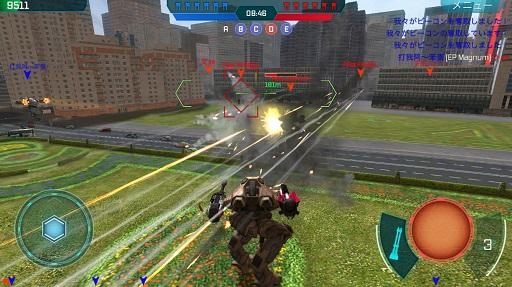 WarRobotはロボットを操作するゲームアプリ